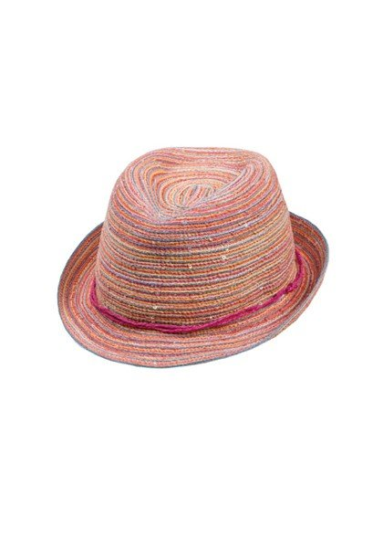 KIDS GIRL-Trilby wollweiss/multicolor