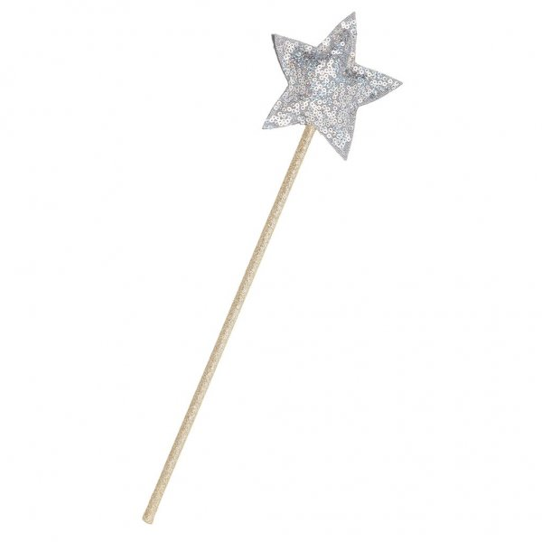 605008-06 SEQUIN WAND SILVER