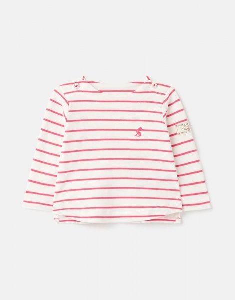 Tom Joule - Harbour Stripe - Organically Grown Jersey Top Up To 1 Month- 24 Months