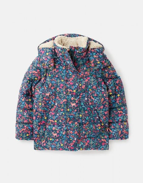 Tom Joule - Wren - Showerproof Recycled 2In1 Coat With Removable Sleeves 1-12 Years