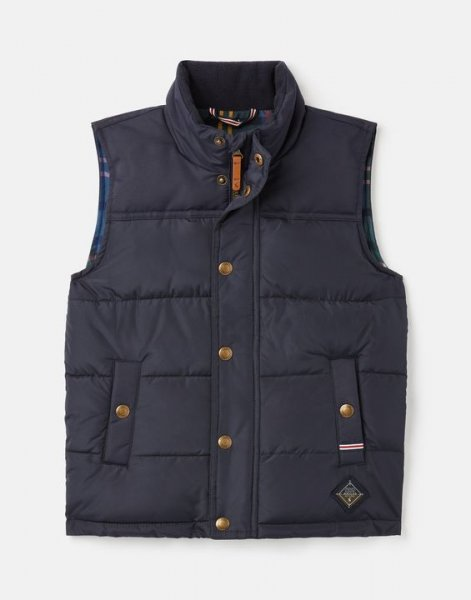 Tom Joule - Matchday Country - Padded Fabric Mix Gilet 1-12 Years