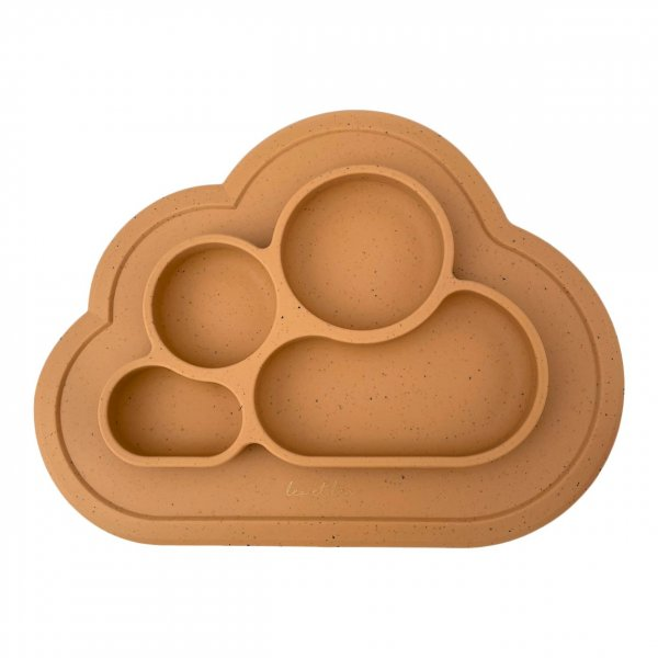 Silicone Plates,4 Shell Sienna