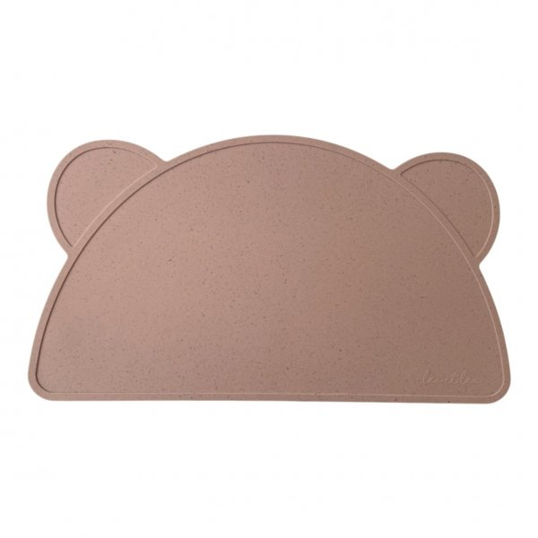 Placemat Bear Shell Rosewood